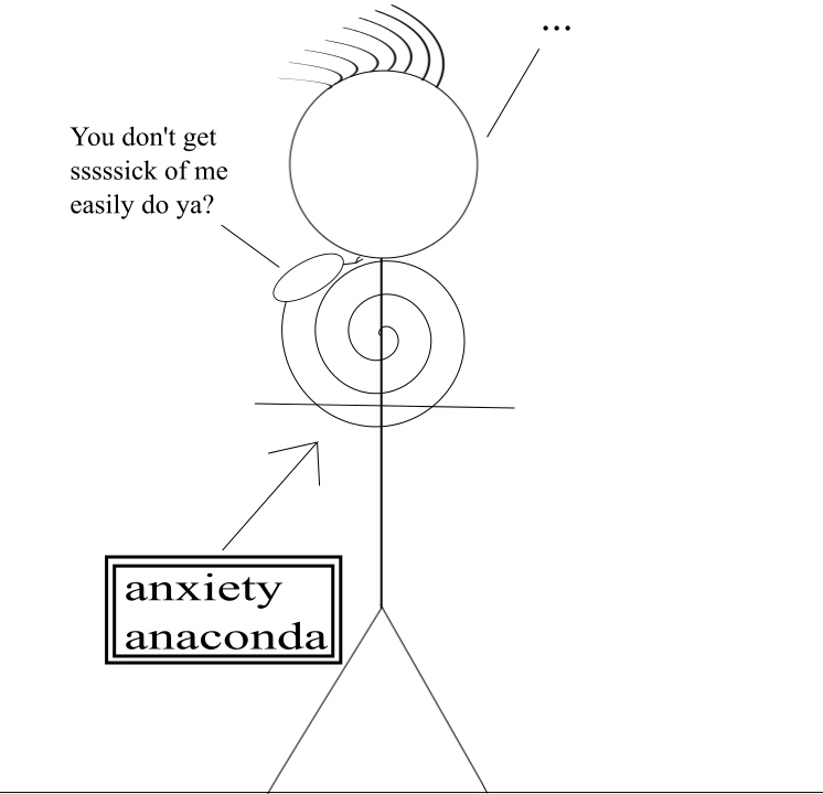anxiety anaconda