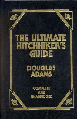 hitchhikers guide to the galaxy collection book cover