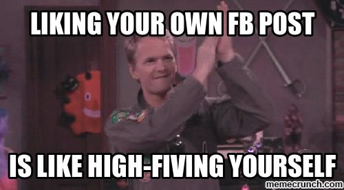 self-five