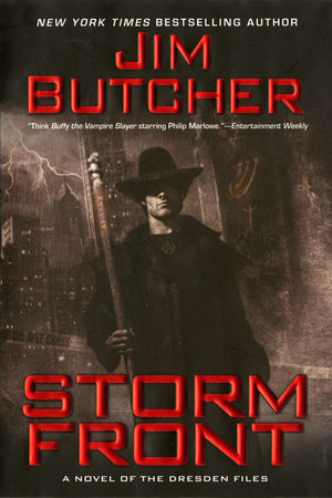 Storm Front by Jim Butcher (book review)