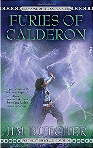 Furies of Calderon by Jim Butcher (book review)