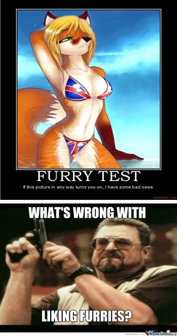 furry test