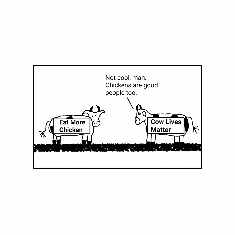 cow lives matter
