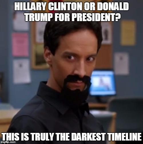 darkest timeline meme