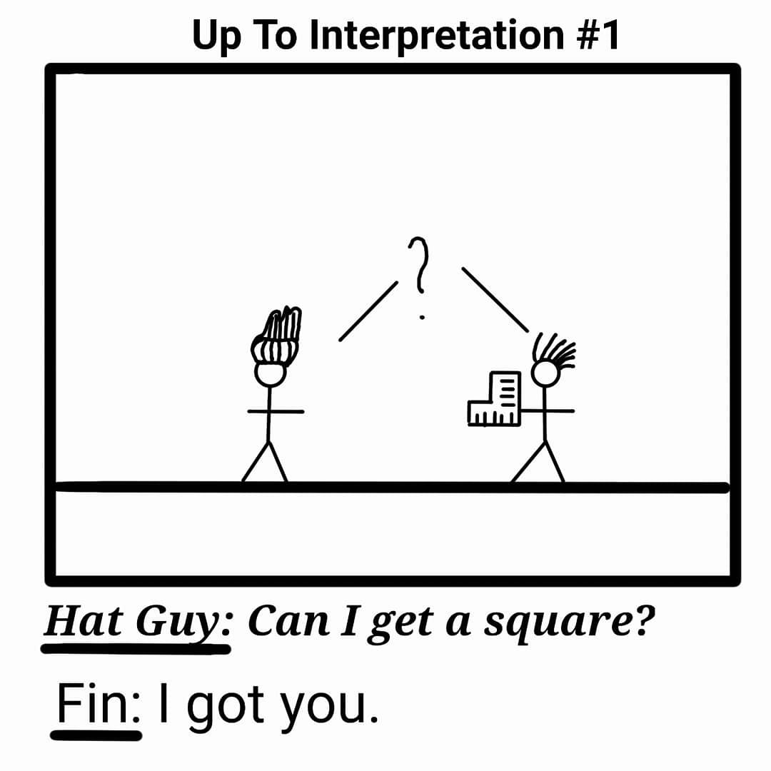 up to interpetation 1