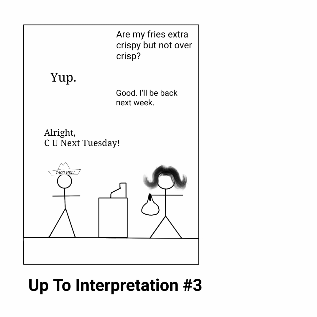 Up to Interpretation 3