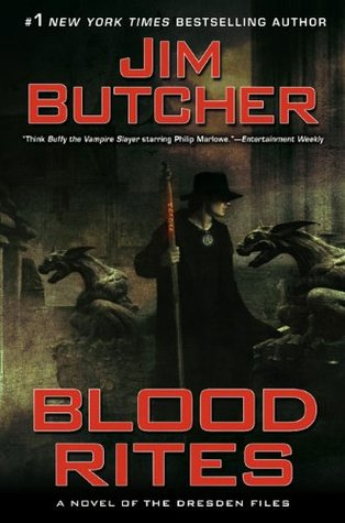 Blood Rites by Jim Butcher (Flash Impression)